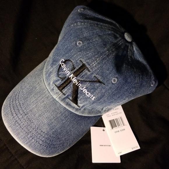 443a9694818 Calvin Klein Denim Baseball Urban Outfitter Cap